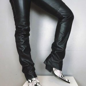 Maxima Pants - Wilson's Maxima Leather black pants